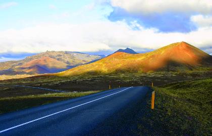 טיול סביב איסלנד כולל סנייפלסנס