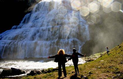 סביב איסלנד כולל הפיורדים המערביים