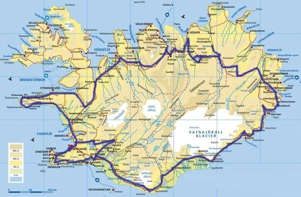 מפת המסלול